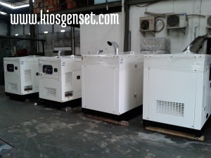 Rental genset 9 unit